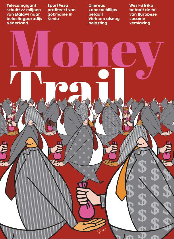 Money Trail krantenbijlage