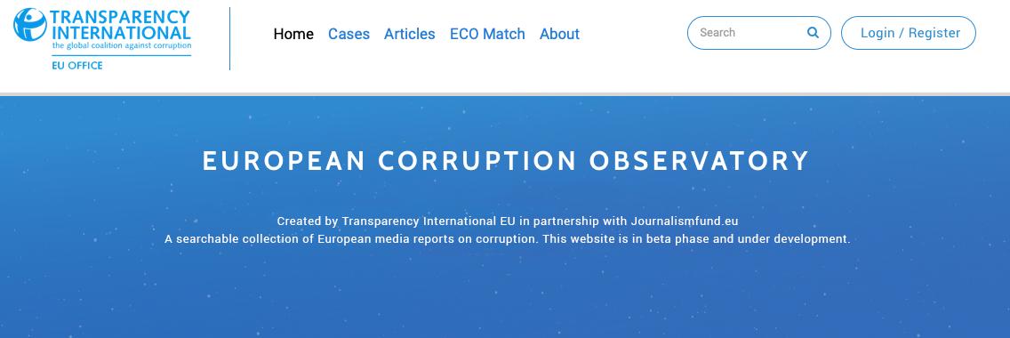 European Corruption Observatory